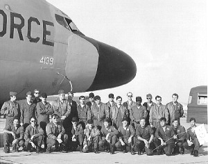 RC-135 and 6916th Sec.Sq. Crew--Circa 1975