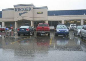 Kroger on Montrose--the gayest Kroger in Houston
