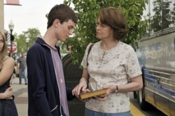 Ryan Kelley and Sigourney Weaver in Prayers for Bobby