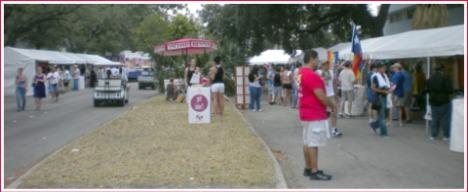 More of the festival on the Lovett Esplanade
