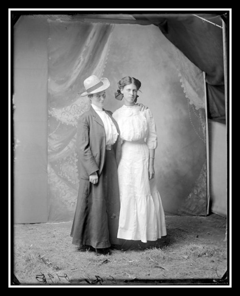 Belle Bickell and Miss Browne, June 3, 1911