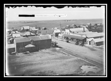 Dorrance, looking at Main Street and southwest, circa 1910