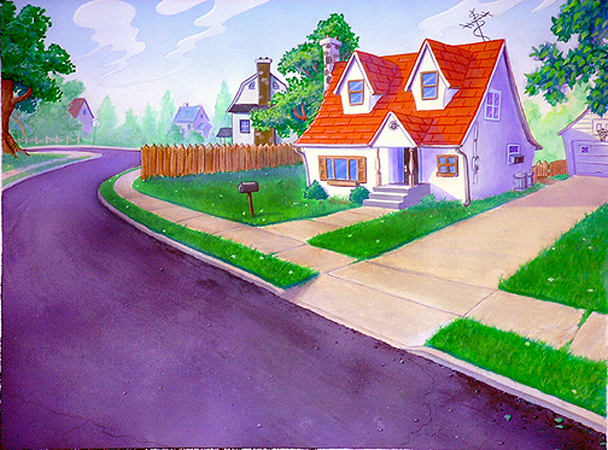 Cartoon Pictures Images Cartoon Pictures Of Houses Free - Big cartoon house