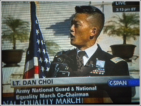"Lt. Dan Choi, Army Arab linguist, who was kicked out of the military because of ""Don't Ask, Don't Tell"""