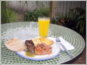 Breakfast is ready!