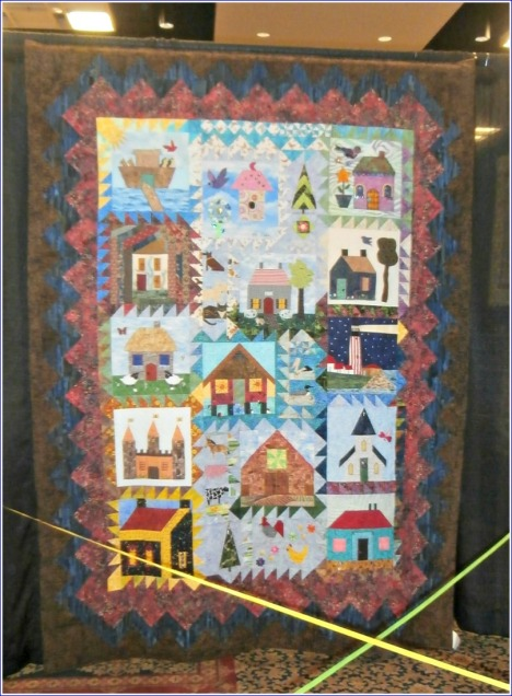 This group quilt was one of my favorites.